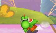 Burla lateral Yoshi SSB4 (3DS) (1)