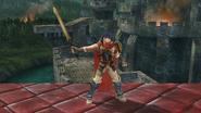 Burla lateral de Ike (2) SSB4 (Wii U)