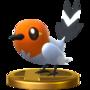 Trofeo de Fletchling SSB4 (Wii U)