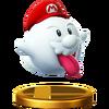 Trofeo de Mario fantasma SSB4 (Wii U)