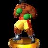 Trofeo de Mr. Sandman SSB4 (3DS)