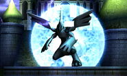 Zekrom en la Liga Pokémon de Teselia SSB4 (3DS)