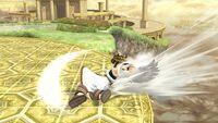 Ataque de recuperación desde el borde (2) Pit SSB4 Wii U