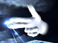 Master Hand disparo SSBB