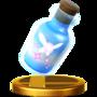 Trofeo de Hada embotellada SSB4 (Wii U)