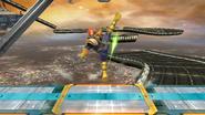 Ataque Smash superior de Captain Falcon (1) SSB4 (Wii U)