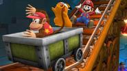 Créditos Modo Leyendas de la lucha Diddy Kong SSB4 (Wii U)