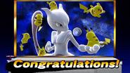 Créditos Modo Senda del guerrero Mewtwo SSB4 (Wii U)