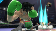 Little Mac en el Ring de Boxeo SSB4 (Wii U)