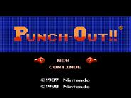 Pantalla de titulo de Punch-Out!! (NES)