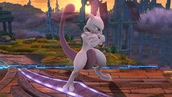 Pose de espera 2 Mewtwo (1) SSB4 (Wii U)