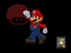 Pose de victoria Mario (1) SSBM