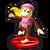 Trofeo de Dixie Kong en Mundo Smash SSB4 (Wii U)