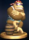 Trofeo de Funky Kong SSBB