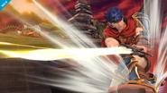 Ataque Smash hacia abajo de Ike SSB4 (Wii U)