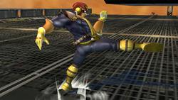 Ataque fuerte lateral Captain Falcon SSBB