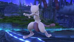 Burla hacia abajo Mewtwo (3) SSB4 (Wii U)