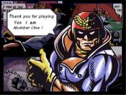 Créditos 1P Game Captain Falcon SSB