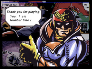 Créditos 1P Game Captain Falcon SSB