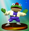 Trofeo de Slippy Toad SSBM