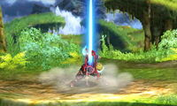 Ataque Smash superior Shulk SSB4 (3DS)