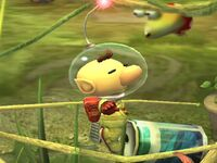 Ataque aéreo normal Olimar SSBB
