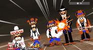 Banda NES Zapper (3) SSB4 (Wii U)