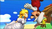 Créditos Modo Leyendas de la lucha Mario SSB4 (3DS)