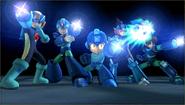 Créditos Modo Senda del guerrero Mega Man SSB4 (3DS)