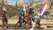 Créditos Modo Senda del guerrero Roy SSB4 (Wii U)