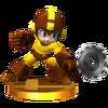 Trofeo de Mega Man (alt.) SSB4 (3DS)