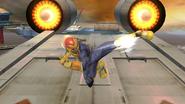 Ataque aéreo normal de Captain Falcon (2) SSB4 (Wii U)
