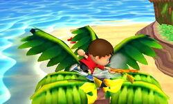Ataque de recuperación boca arriba Aldeano (2) SSB4 (3DS)