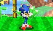 Burla superior Sonic SSB4 (3DS)