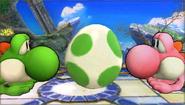 Créditos Modo Senda del guerrero Yoshi SSB4 (3DS)