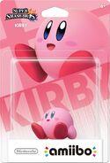 Embalaje del amiibo de Kirby (América)