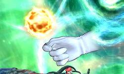 Master Hand Bola Ígnea (1) SSB4 (3DS)
