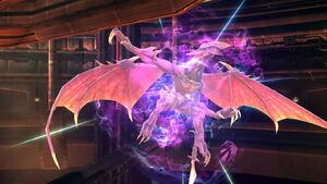 Ridley Transformación (1) SSB4 (Wii U)