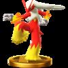 Trofeo de Blaziken SSB4 (Wii U)