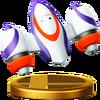 Trofeo de Mochila propulsora SSB4 (Wii U)