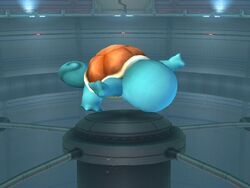 Ataque aéreo superior Squirtle SSBB