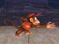 Ataque normal Diddy Kong SSBB (1)