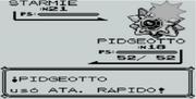 Ataque rápido en Pokémon Rojo (GB)