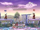 Glitch de personajes del mismo color