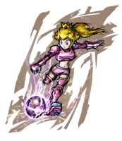 Pegatina Peach (Mario Strikers Charged) SSBB