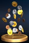 Trofeo Monedas Smash SSBB