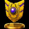 Trofeo de Retroescudo SSB4 (Wii U)