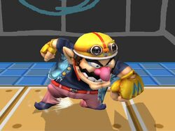 Ataque normal Wario SSBB (2)