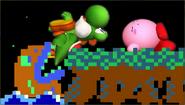 Créditos Modo Leyendas de la lucha Yoshi SSB4 (3DS)