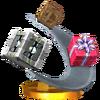 Trofeo de Cajas rodantes SSB4 (3DS)